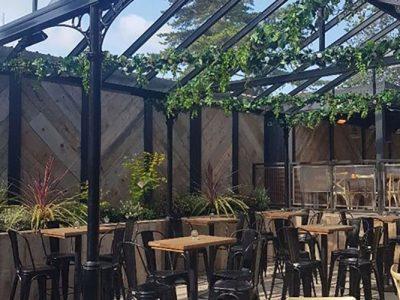 refurbishing pub outside spaces
