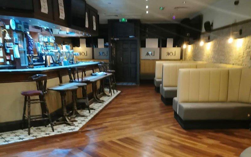 Pub Refurbishment in COVID times
